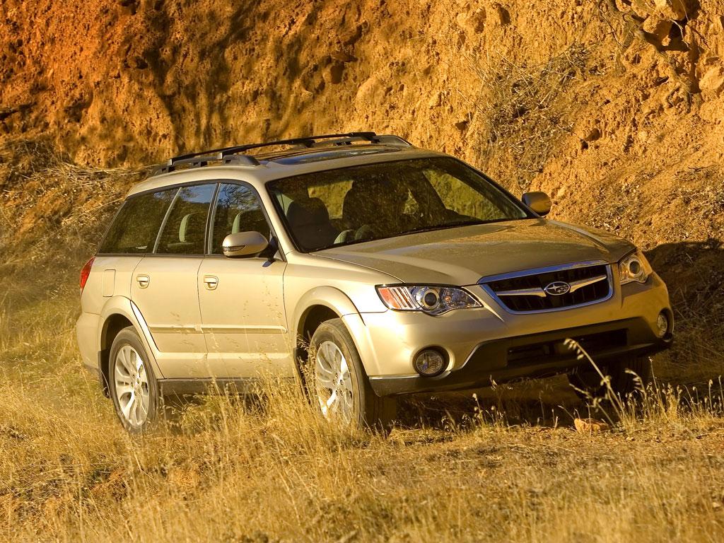 Subaru Outback и Legacy - фотография №2