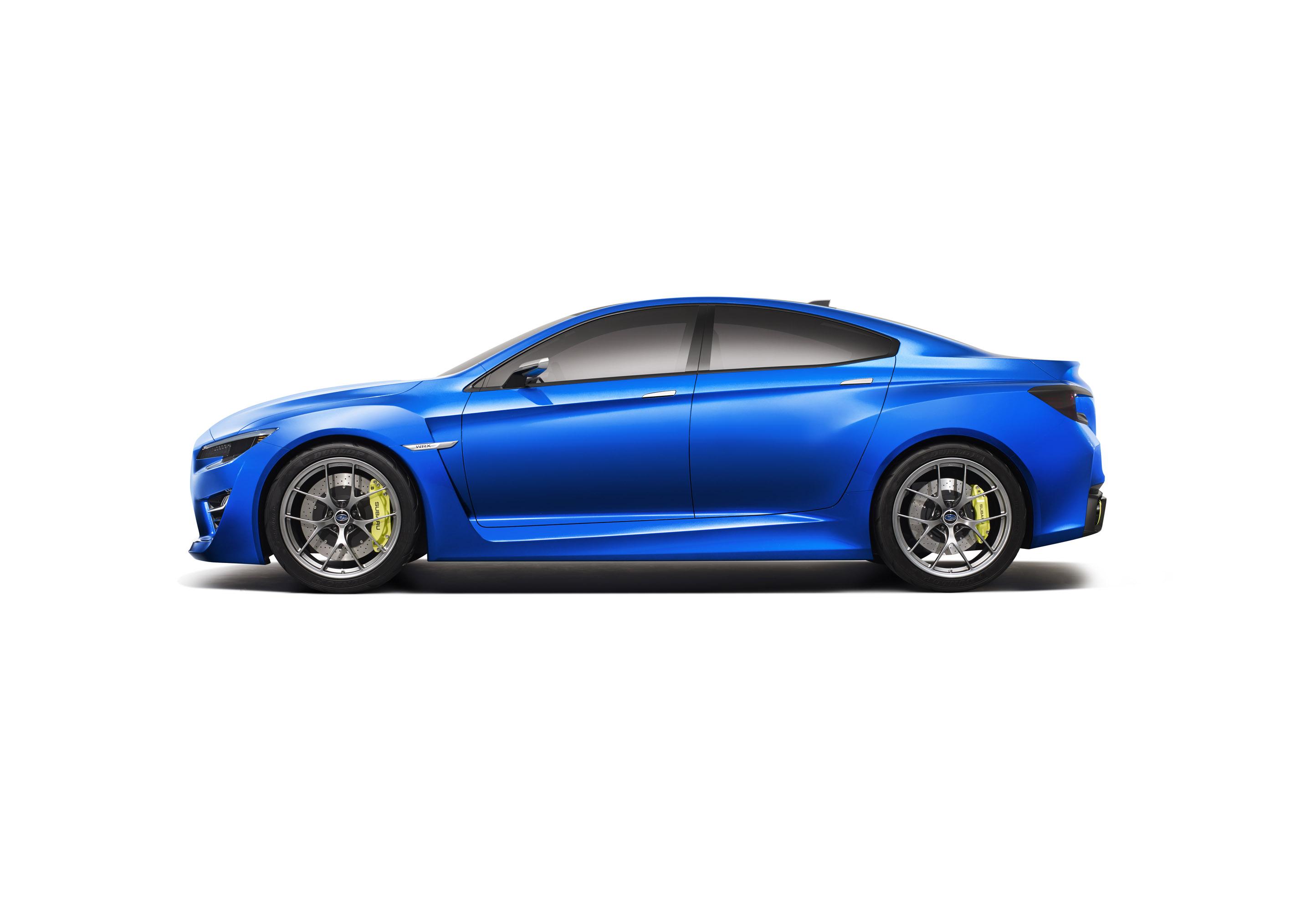 Subaru WRX Concept - фотография №5