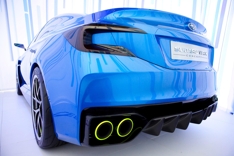 Subaru WRX Concept - фотография №30