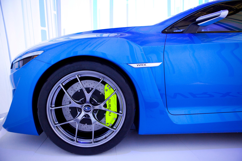 Subaru WRX Concept - фотография №31