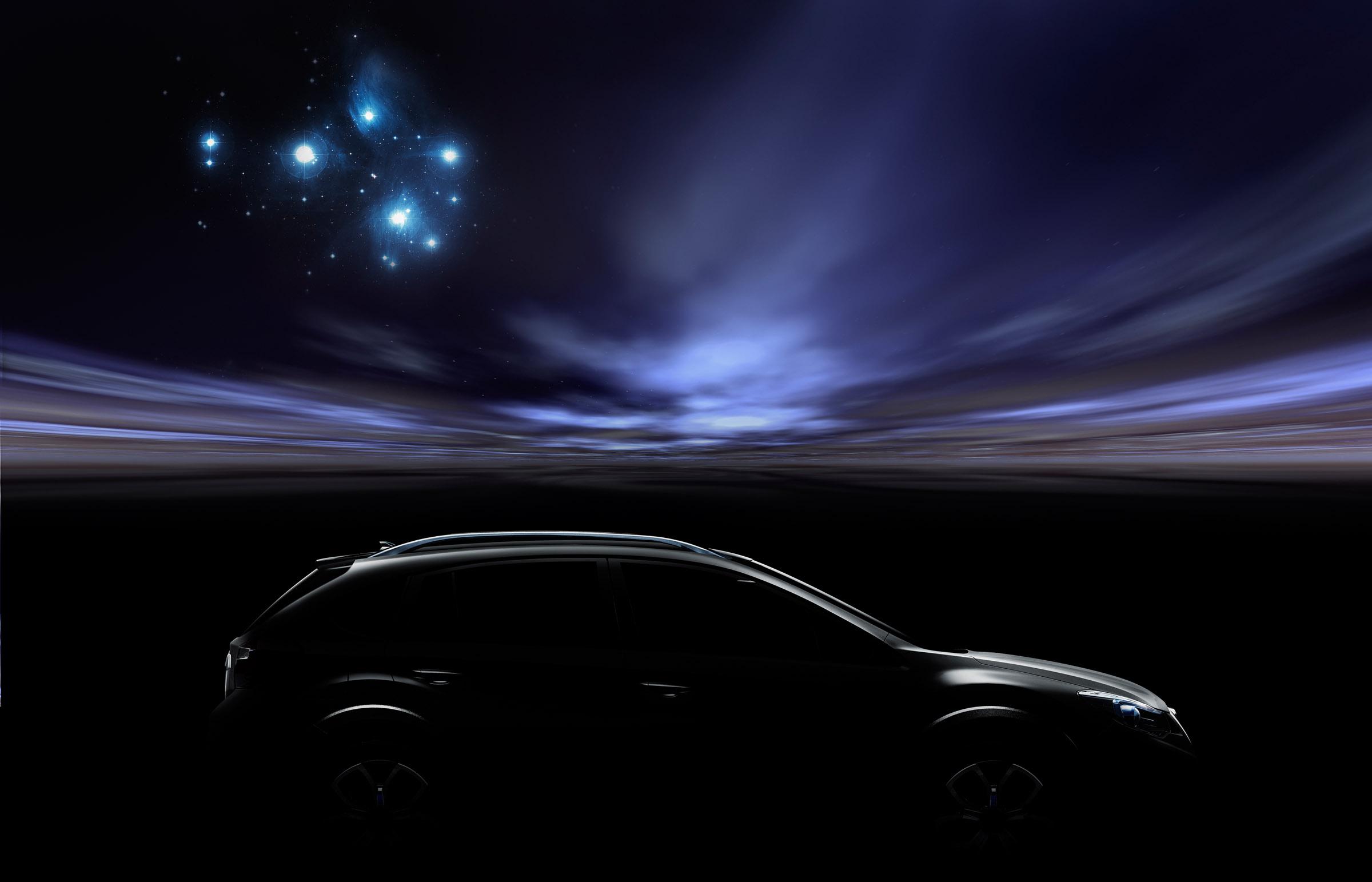 Subaru XV Concept официально открыл - фотография №2