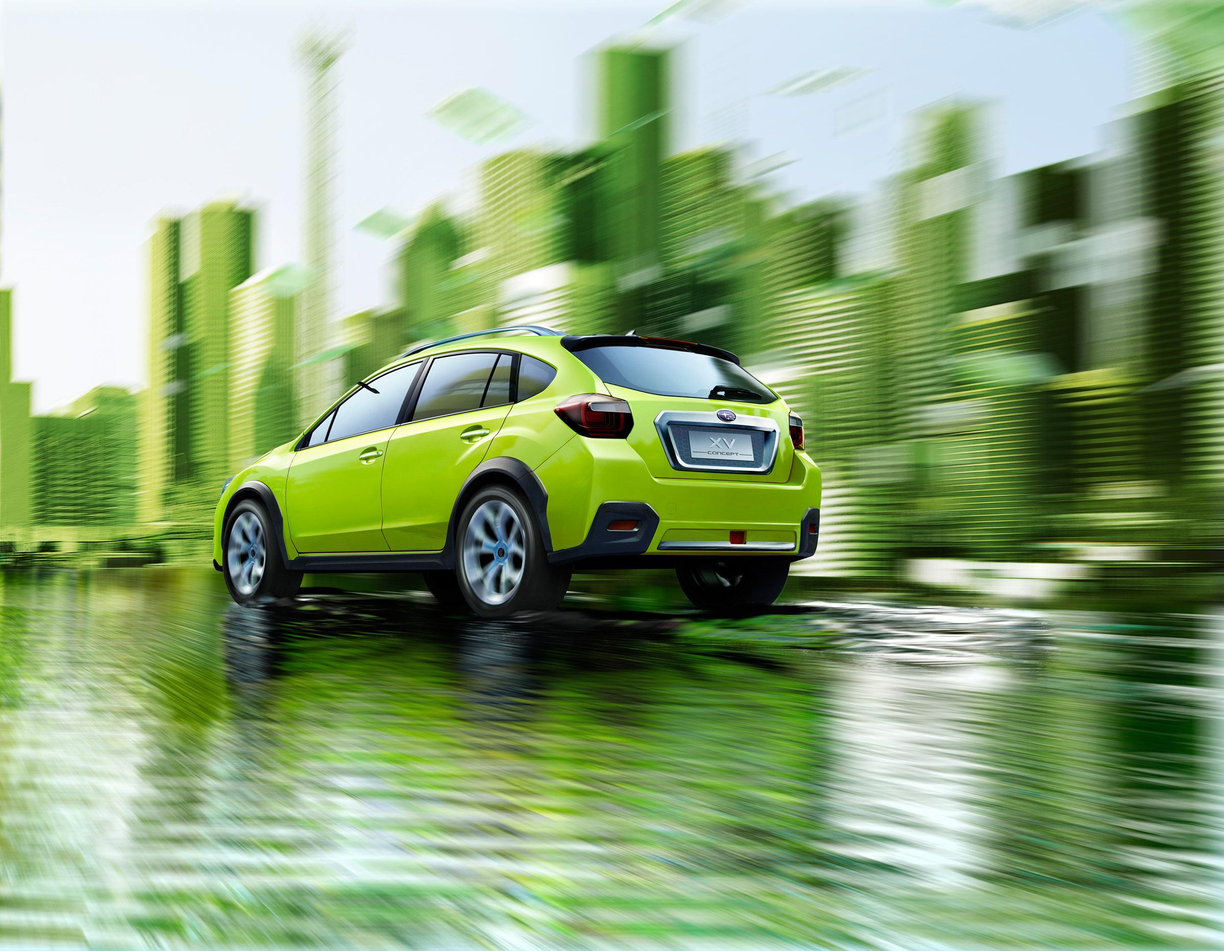Subaru XV Concept официально открыл - фотография №6