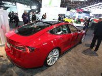 Tesla Model S Detroit 2013