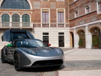 Tesla Roadster TAG Heuer Odyssey of Pioneers World Tour