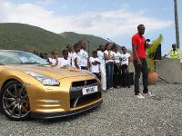 Usain Bolt Golden Nissan GT-R