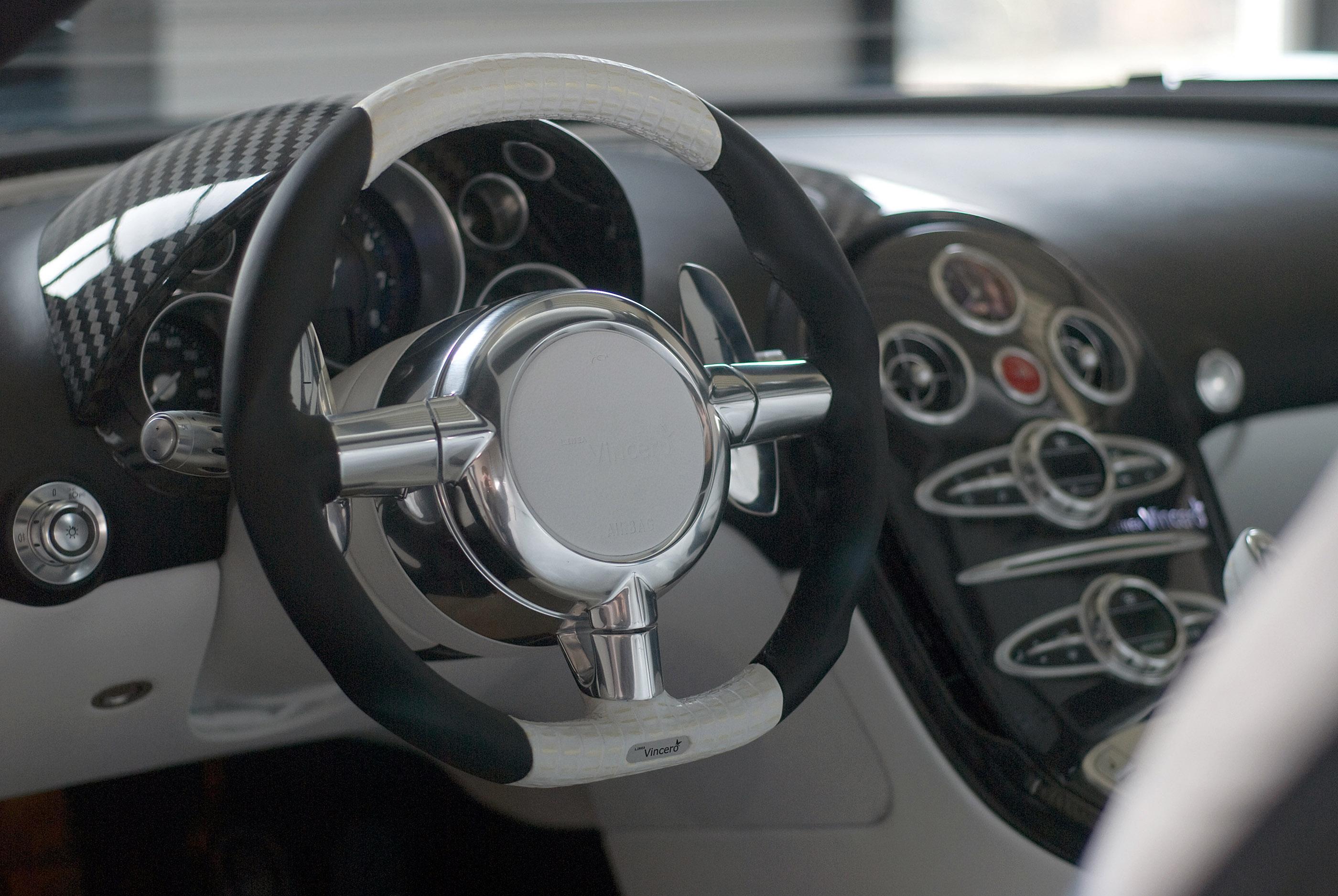 LINEA Vincero - Mansory уточняет Bugatti Veyron 16.4 - фотография №2