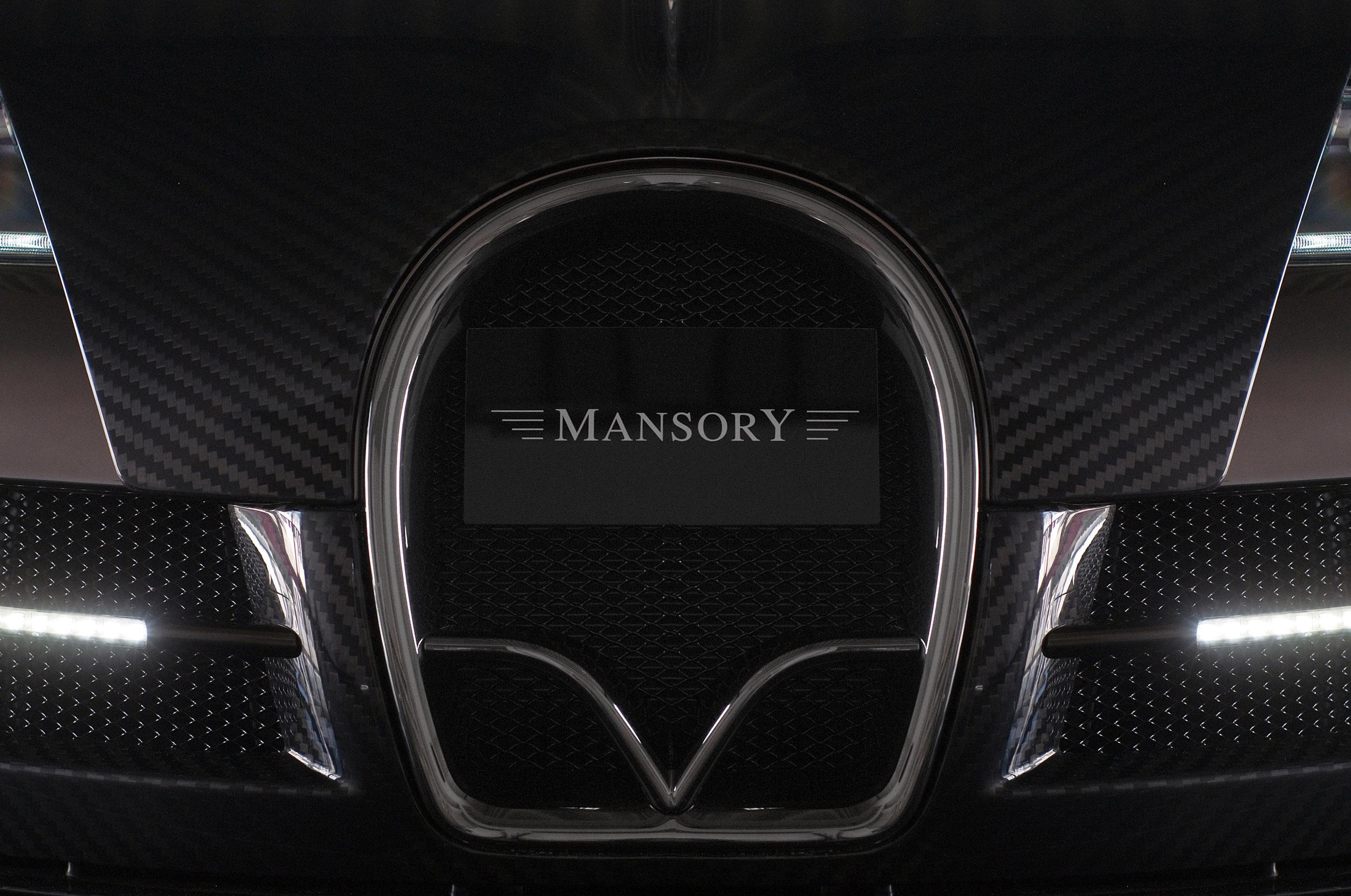 LINEA Vincero - Mansory уточняет Bugatti Veyron 16.4 - фотография №8