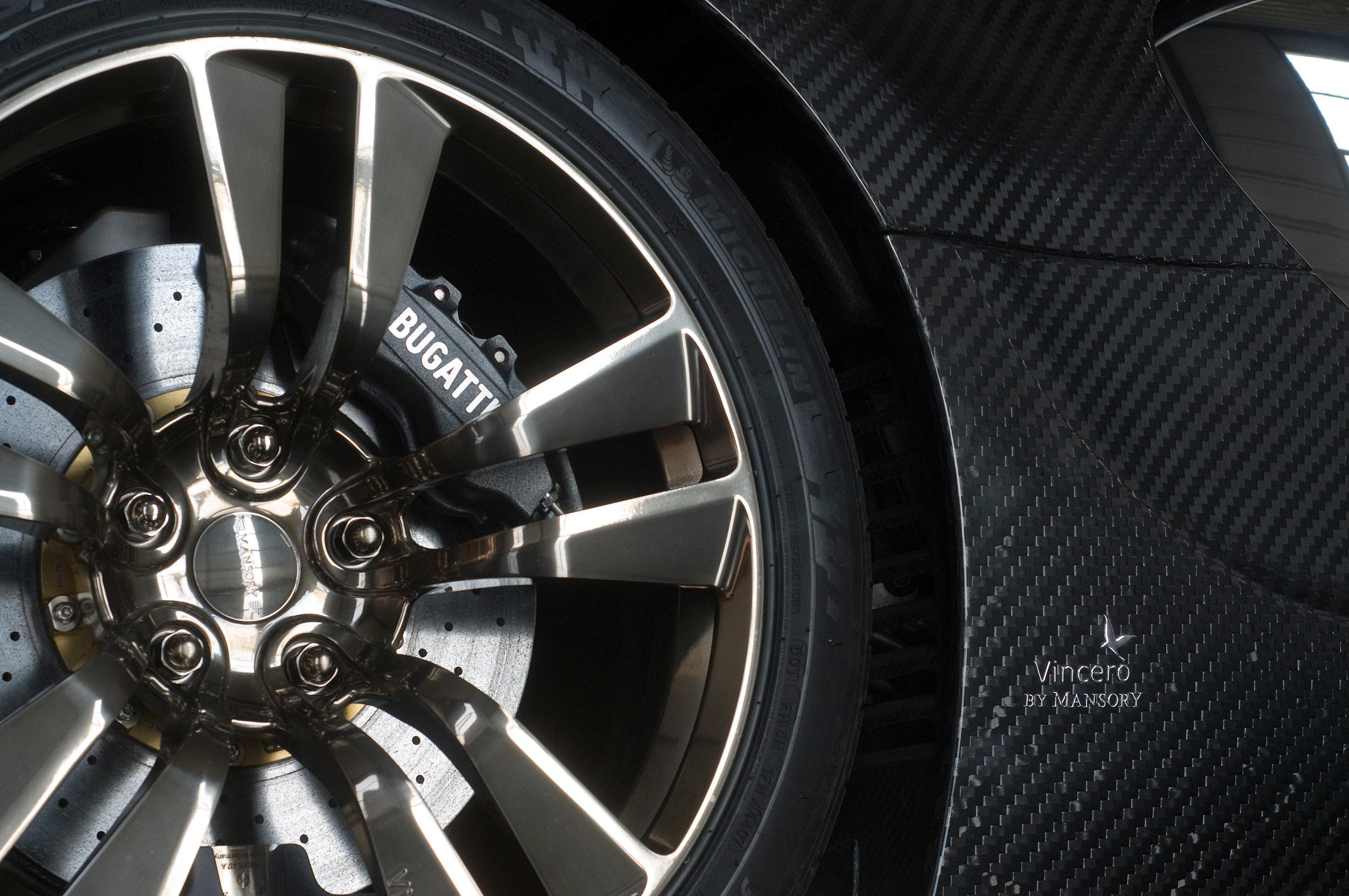 LINEA Vincero - Mansory уточняет Bugatti Veyron 16.4 - фотография №9