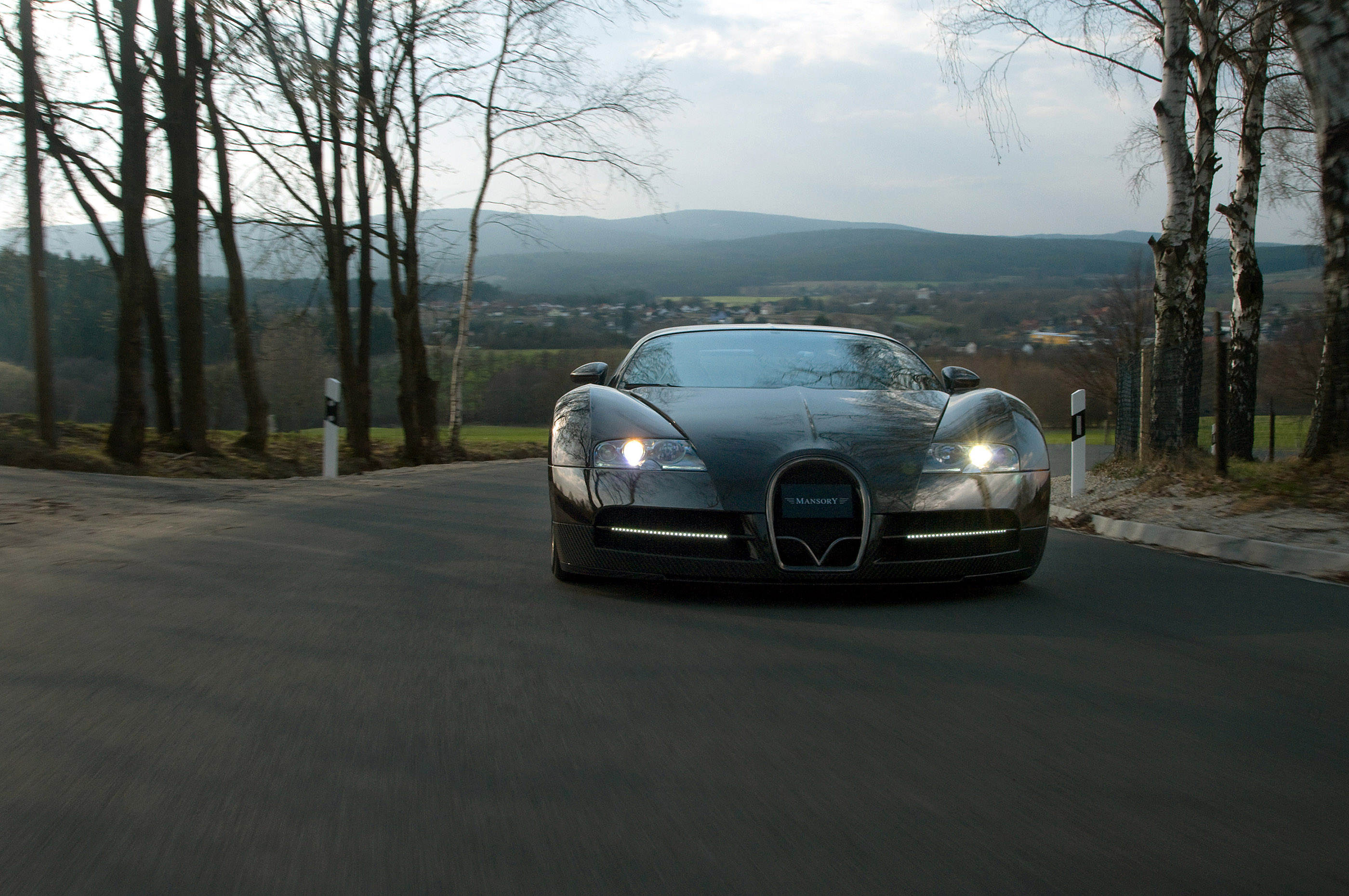 LINEA Vincero - Mansory уточняет Bugatti Veyron 16.4 - фотография №19