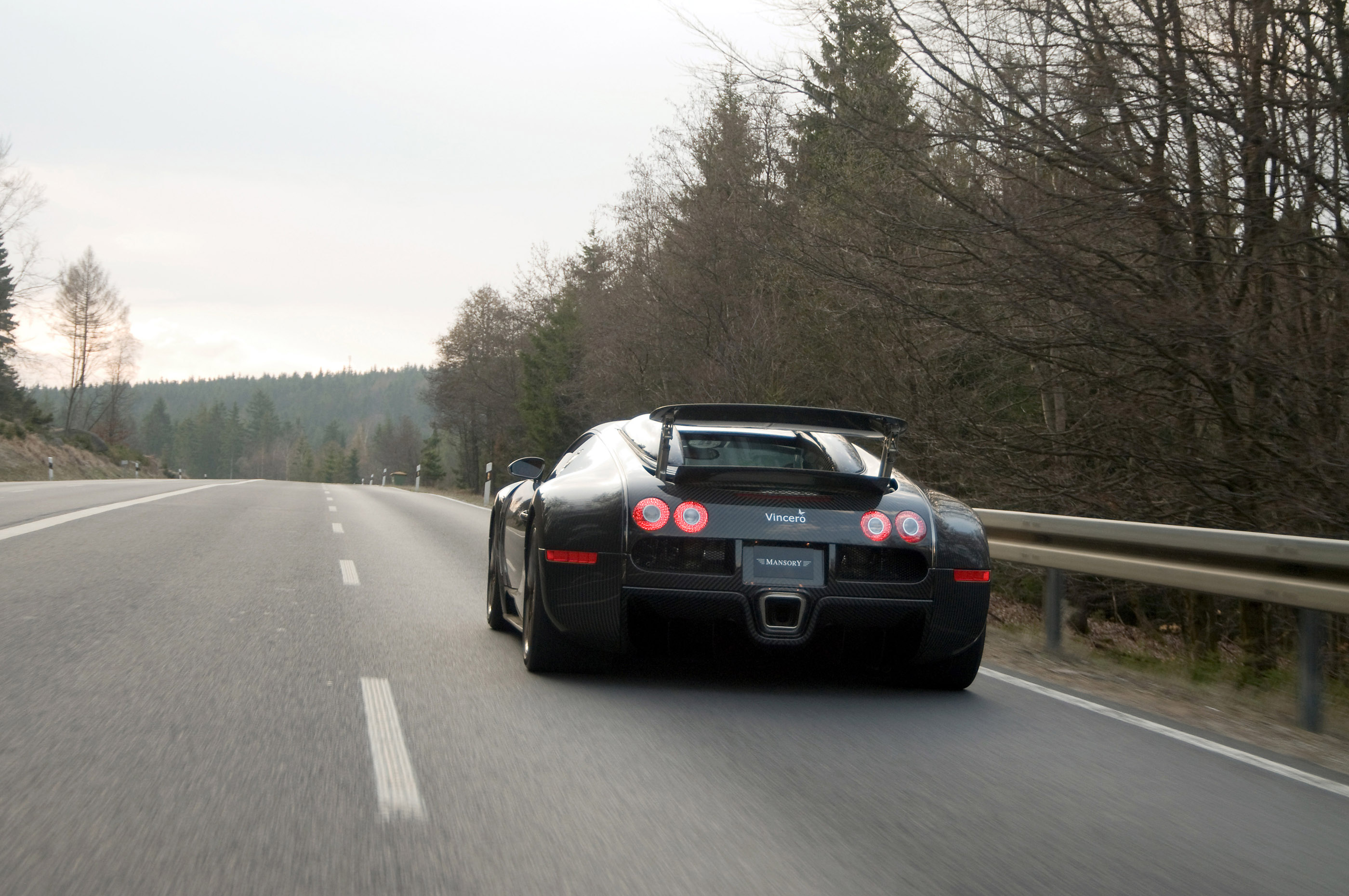 LINEA Vincero - Mansory уточняет Bugatti Veyron 16.4 - фотография №22