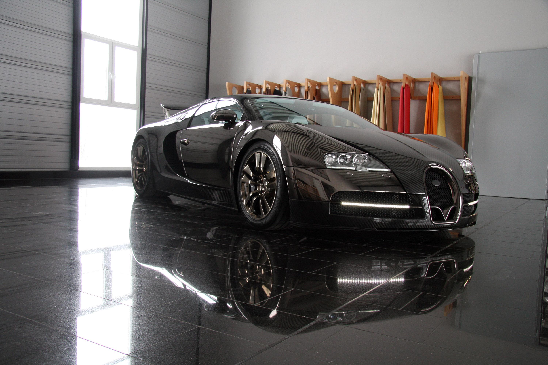LINEA Vincero - Mansory уточняет Bugatti Veyron 16.4 - фотография №34
