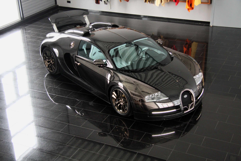 LINEA Vincero - Mansory уточняет Bugatti Veyron 16.4 - фотография №37