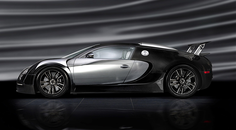 LINEA Vincero - Mansory уточняет Bugatti Veyron 16.4 - фотография №49