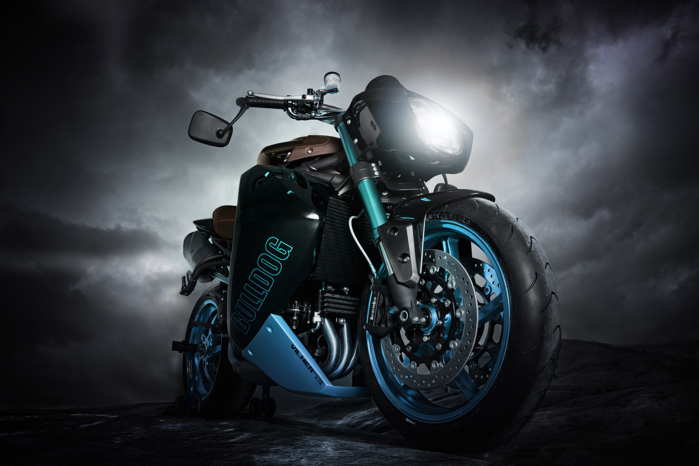 Vliner Triumph скорость в Custom Bike