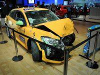 Volvo C30 Electric - crashed Detroit 2011