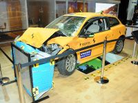 Volvo C30 Electric - crashed Detroit 2011